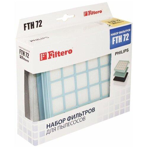 Фото - Filtero Набор фильтров FTH 72 1 шт. набор фильтров filtero fth 24 bsh hepa