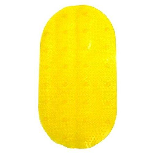 Нескользящий коврик для ванной Uviton Бусинка желтый