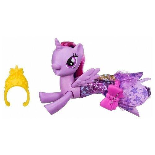 Фигурка My Little Pony Hasbro Пони в волшебных платьях Мерцание my little pony movie мерцание пони в волшебных платьях