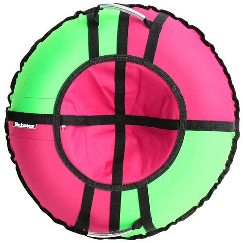 Фото - Тюбинг Hubster Хайп розовый-салатовый (105см) тюбинги hubster люкс pro тундра 90 см