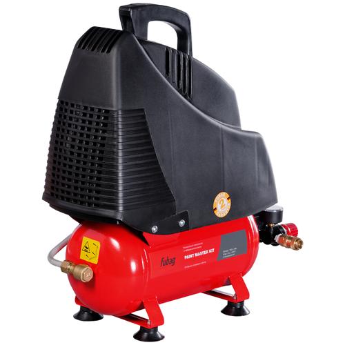 Фото - Компрессор безмасляный Fubag Paint Master Kit, 6 л, 1.1 кВт компрессор безмасляный fubag paint master kit 6 л 1 1 квт