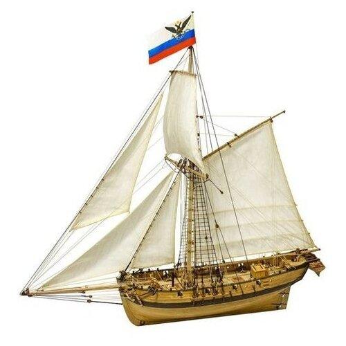 Сборная модель МастерКорабел Тендер Авось, Масштаб 1:72, MK0303P