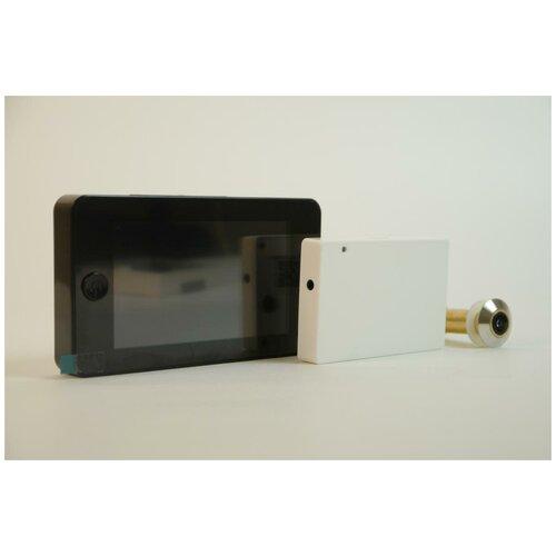 IHome-GLAZ-М-Black (Wi-Fi) видеоглазок - видеоглазок с записью, заказать наложенным платежом видеоглазок, видеоглазок для частного дома в подарочной упаковке