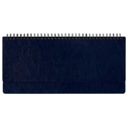 Фото - Планинг недатированный, синий, 303х150, 120стр, Agenda планинг attache 129427 недатированный 53 листов синий