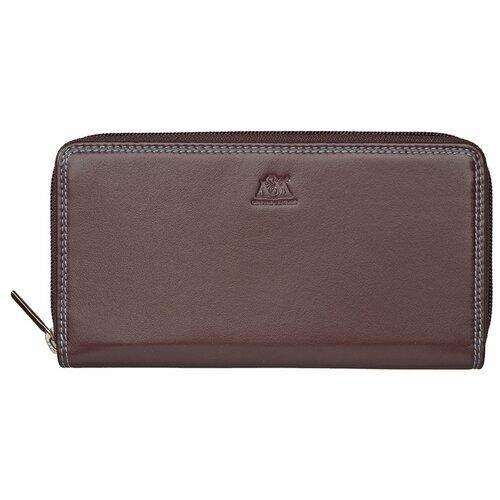 Портмоне женское A&M, 3705 коричневое портмоне женское zinger sahara wn013 3 коричневое