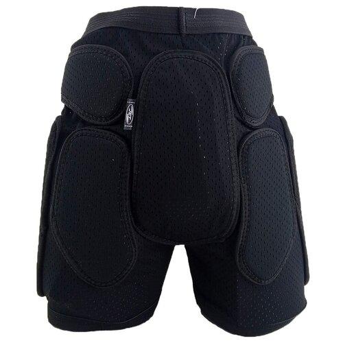 Защита горнолыжная/сноубордическая JetSport шорты с мягкими защитными накладками 8мм. и жестким пластиком XL