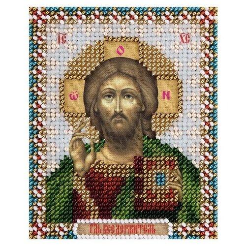 Купить PANNA Набор для вышивания бисером Икона Господа Вседержателя 8.5 х 11 см (СМ-1819), Наборы для вышивания