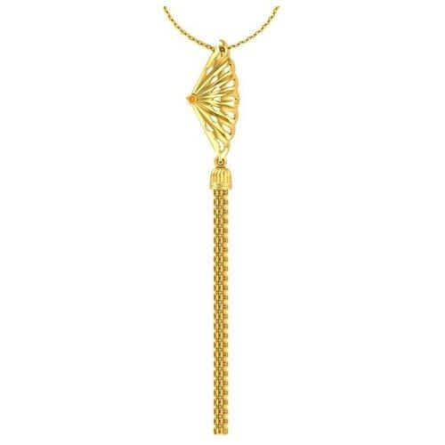 POKROVSKY Золотая подвеска «Аплодисменты» с сапфиром 4120828-00011