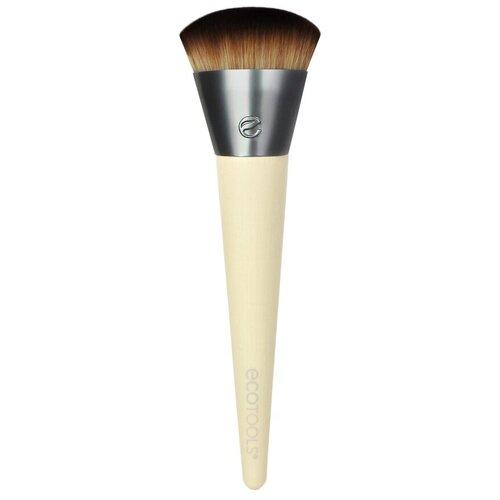 Кисть Ecotools Wonder Cover Complexion, для лица коричневый/серый недорого