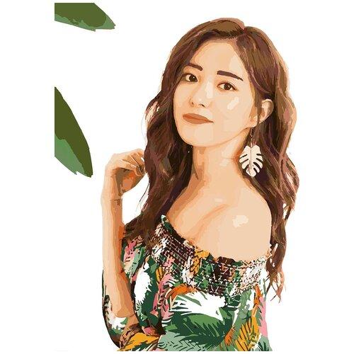 Купить Картина по номерам Ли Се Ён, 60 х 70 см, Красиво Красим, Картины по номерам и контурам