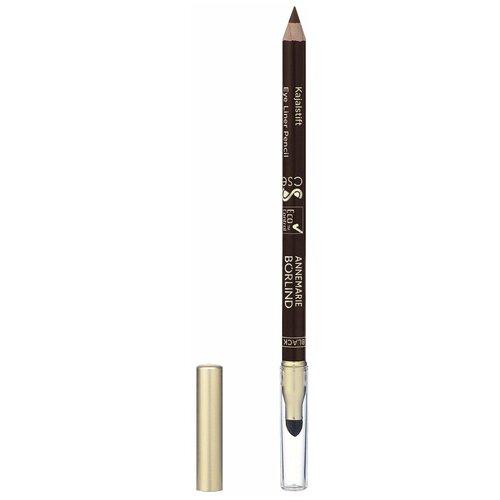 Фото - Annemarie Borlind Карандаш для глаз Eye Liner Pencil, оттенок black brown ga de карандаш для глаз high precision eye liner оттенок 02 brown