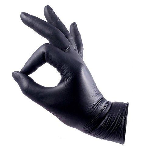 Фото - Нитриловые одноразовые перчатки Wally Plastic неопудренные 100 шт (50 пар) размер S перчатки одноразовые нитриловые черные wally plastic размер m 100 шт 50 пар