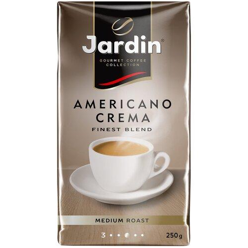кофе молотый jardin dessert cup 250 г Кофе молотый Jardin Americano Crema, 250 г
