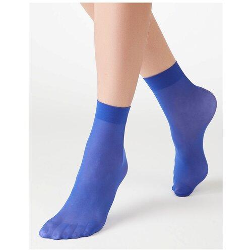 Капроновые носки MiNiMi Micro Colors 50 3D, размер 0 (one size), royal blue