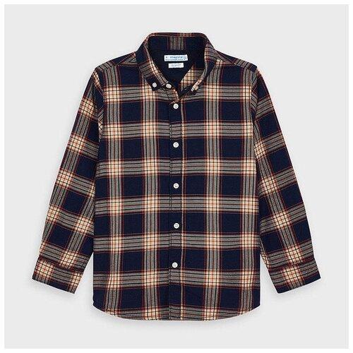 Рубашка Mayoral размер 5(110), темно-синий
