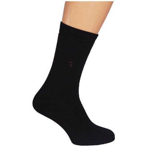 Носки мужские Гамма С513 зимние с плюшем, Чёрный, 25-27 (размер обуви 39-43)