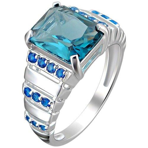 Фото - Эстет Кольцо с кристаллом swarovski и фианитами из серебра С22К250299, размер 19 эстет кольцо с кристаллом swarovski и фианитами из серебра с22к250029 размер 17 5