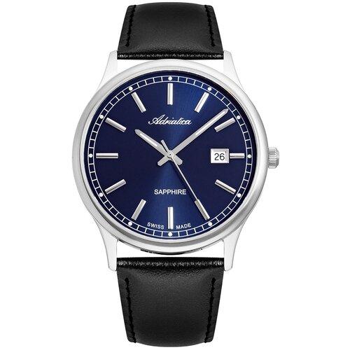 Фото - Часы наручные швейцарские мужские Adriatica A1293.5215Q мужские часы adriatica a1246 5217q
