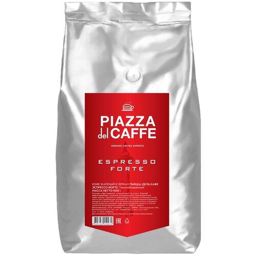 Кофе в зернах Piazza del Caffe Espresso Forte промышленная упаковка, 1 кг футболка piazza italia piazza italia pi022emcbzd0