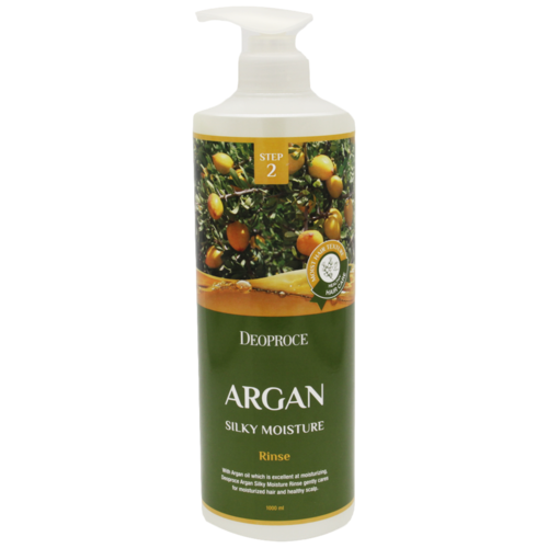 Купить Deoproce ополаскиватель Argan silky moisture, 1000 мл