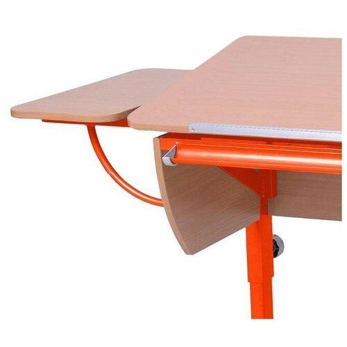 Приставка к столу Астек-Элара боковая приставка к партам бук/оранжевый