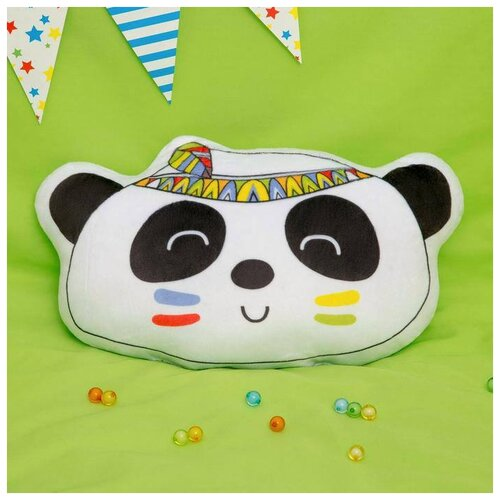 Подушка декоративная Крошка Я Панда, 35*24 см (2769817) подушка декоративная крошка я буква ш 35 х 22 см синий