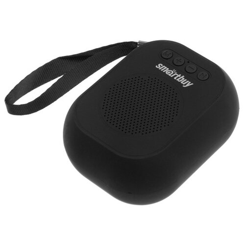 Портативная колонка Smartbuy BLOOM 3 Вт Bluetooth MP3 FM-радио чёрная 4971324