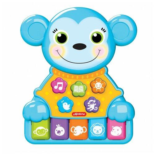 Купить Игрушка Азбукварик Музыкальные зверята Обезьянка 2855, Развивающие игрушки