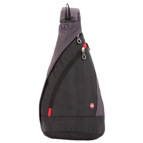 сумка планшет swissgear текстиль черный серый Рюкзак SWISSGEAR SA1092230 (черный/серый)