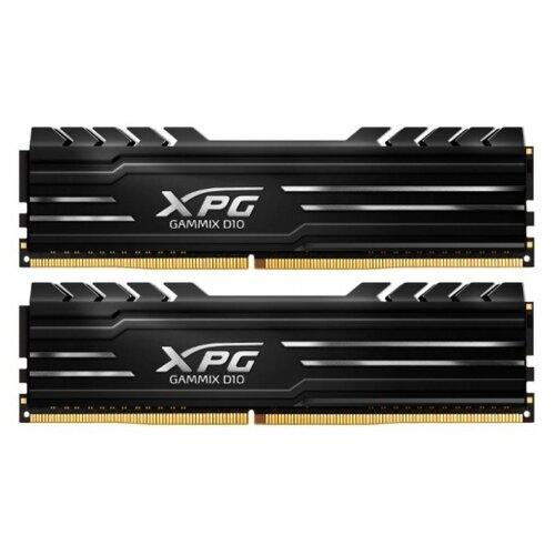 Оперативная память ADATA XPG Gammix D10 16GB (8GBx2) DDR4 3200MHz DIMM 288pin CL16 AX4U32008G16A-DB10 оперативная память adata xpg gammix d10 16gb ddr4 3000mhz dimm 288pin cl16 ax4u3000716g16a sr10