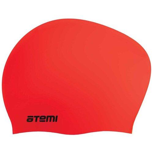 Фото - Шапочка для плавания ATEMI LC-03, красный аксессуары для плавания atemi шапочка для плавания графика psc422