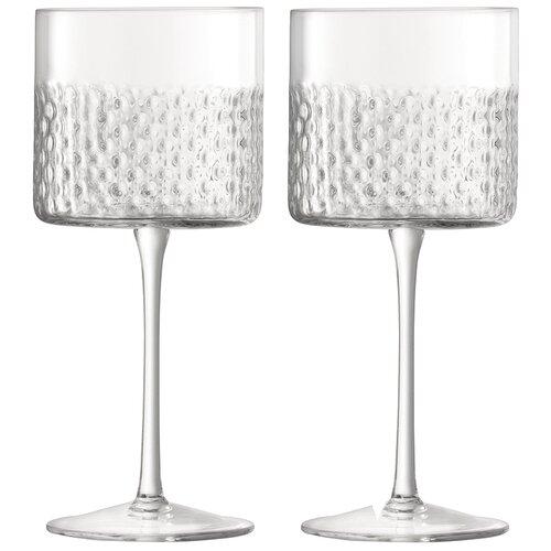 LSA Набор бокалов Wicker, 320 мл, 2 шт. прозрачный