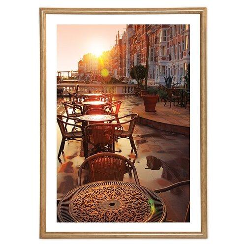 фотоальбомы и рамки veld co фоторамка poster 13х18 см Фоторамка Veld Co PR 15798/15795/15797/15796/15802, 21х29.7 см коричневый