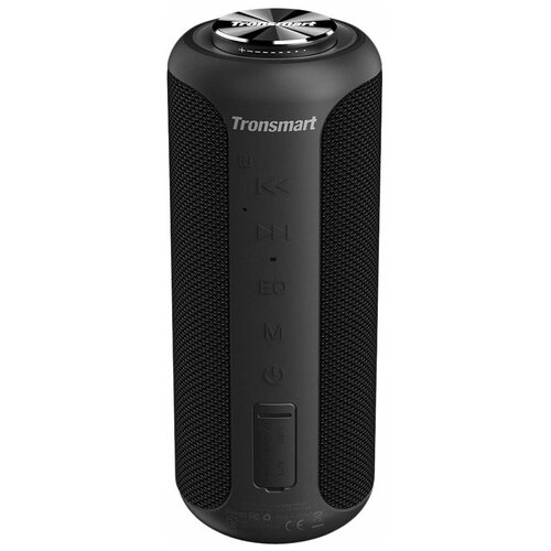 Портативная акустика Tronsmart Element T6 Plus Upgraded, черный портативная акустика tronsmart element t6 plus upgraded красный