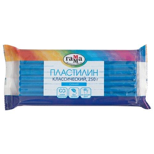 Купить Пластилин ГАММА Классический синий 250 г (270818_05), Пластилин и масса для лепки