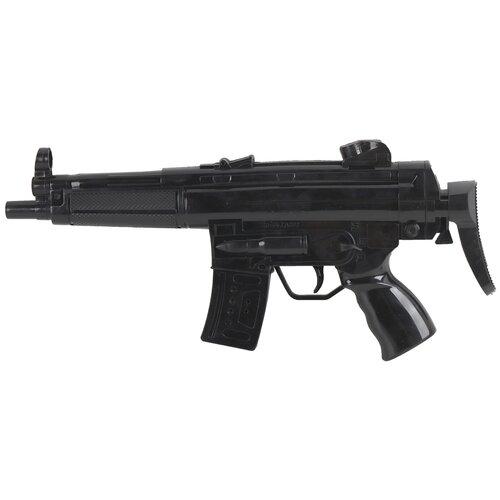Купить Игрушка детская ТМ Компания Друзей Автомат-трещотка, игрушечное оружие, оружие для детей, для мальчиков, цвет черный, 18х5х39 см, Игрушечное оружие и бластеры