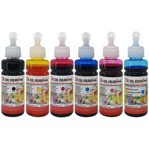 Фото - Чернила (краска) для заправки принтера Epson Stylus Photo PX730 (набор СТАНДАРТ 6) чернила краска для заправки принтера epson stylus photo px730 набор макси 6