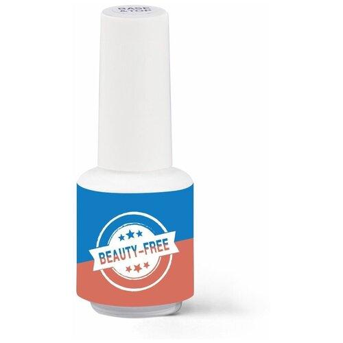 Beauty-Free базовое и верхнее покрытие Base & Top coat 8 мл прозрачный недорого