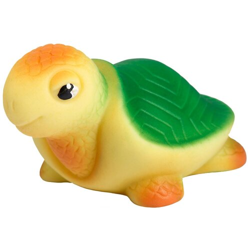 Фото - Игрушка для ванной ОГОНЁК Черепаха Соня (С-923) желтый/зеленый игрушка для ванной огонёк утенок с 355 желтый красный