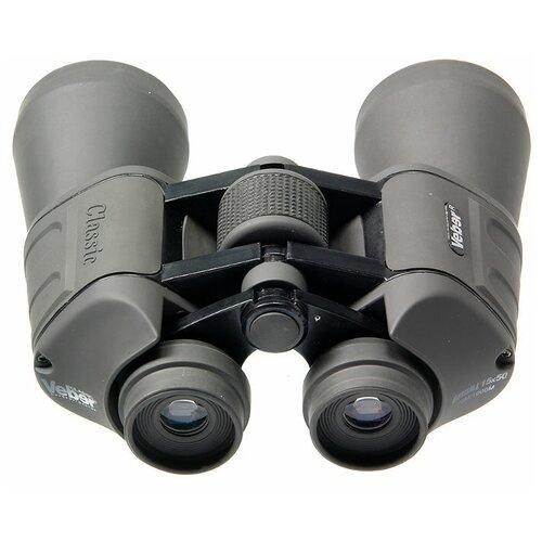 Фото - Бинокль Veber Classic БПШЦ 15x50 VRWA серый бинокль konus basic 10x25 черный серый