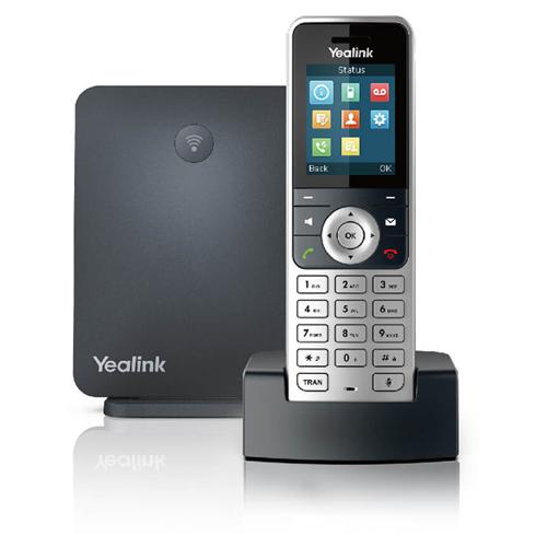 VoIP-телефон Yealink W53P черный/серебристый