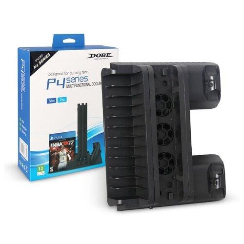 Dobe Подставка Multifunctional Cooling Stand для PlayStation 4 Pro/Slim (TP4-882) черный