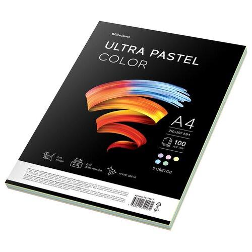 Фото - Бумага OfficeSpace A4 Ultra Pastel Color 80 г/м² 100 лист., разноцветный бумага officespace а4 neon 80 г м² 100 лист