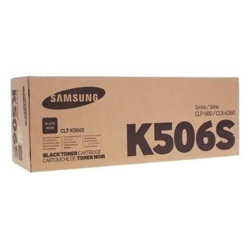 Фото - Картридж лазерный SAMSUNG CLT-K506S черный (2000стр.) для CLP-680/CLX-6260 картридж лазерный cactus cs clt m506lv пурпурный 3500стр для samsung clp 680 clx 6260 6260fd 6260fr