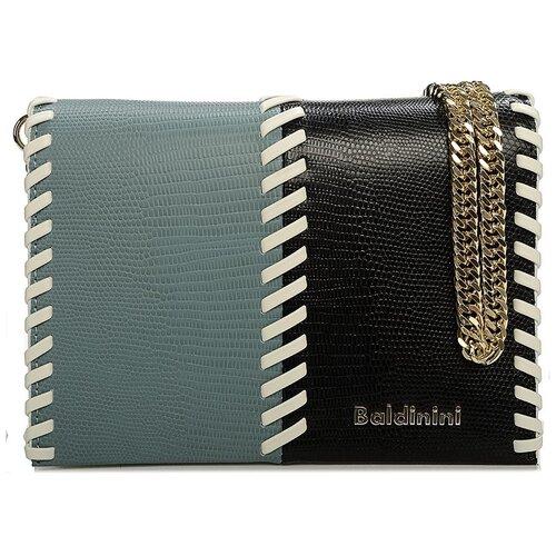 Сумка-клатч женская Baldinini G2APWG3M0012T69 light green/black/white недорого