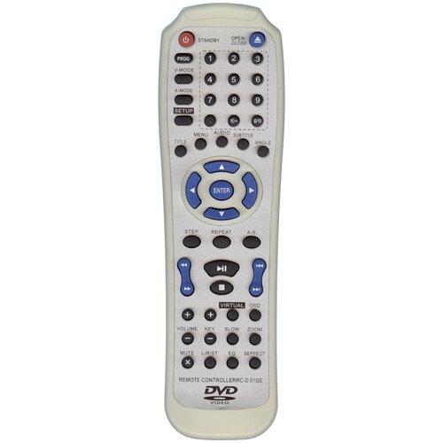 Фото - Пульт HUAYU RC-D01GE сигнал для dvd-плеера Elenberg пульт huayu hof 54b1 4 для tv dvd elenberg