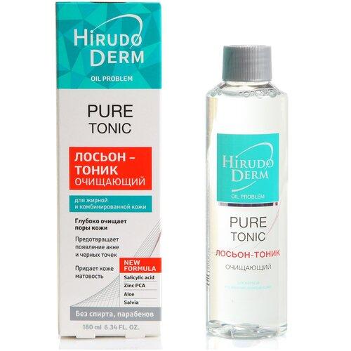 Hirudo Derm Тоник очищающий Pure, 180 мл недорого
