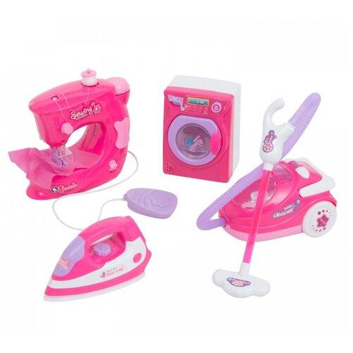 Купить Игровой набор Mia Club Бытовая техника MIA-619 розовый, Детские кухни и бытовая техника
