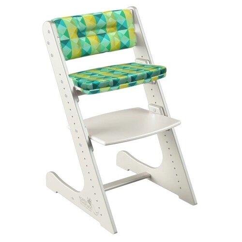 Фото - Растущий стул Конёк Горбунёк Комфорт цвет Слоновая кость в комплекте с подушками Арлекино Зима стульчики для кормления конёк горбунёк цветной однотонный