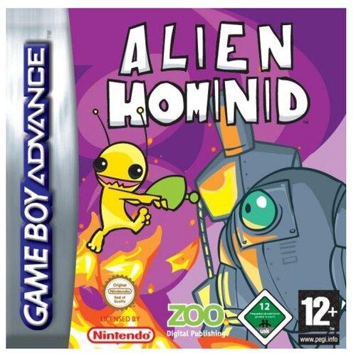 Картридж 32-bit Alien Hominide (рус)